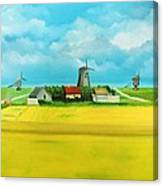 Saaremaa Island Estonia Canvas Print