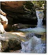 Sabbaday Falls Gorge Canvas Print