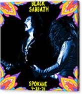 Sabbath In Spokane 1 Canvas Print
