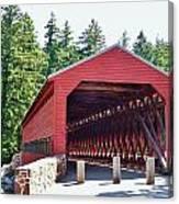 Sachs Covered Bridge 4 Canvas Print