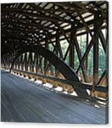 Saco River Covered Bridge Nh Canvas Print
