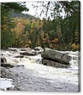 Saco River Rapids North Conway I Canvas Print