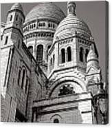 Sacre Coeur Architecture  Canvas Print