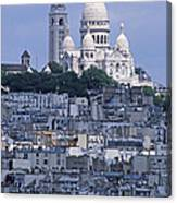 Sacre - Coeur Basilica Canvas Print