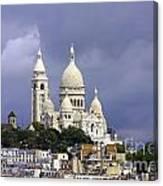 Sacre Coeur Paris France Canvas Print