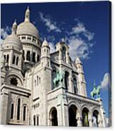 Sacre Coeur Paris Canvas Print