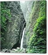 100450-sacred Falls  Canvas Print