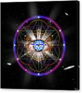 Sacred Geometry 100 Canvas Print