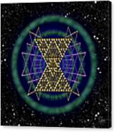 Sacred Geometry 181 Canvas Print