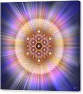 Sacred Geometry 185 Number 2 Canvas Print