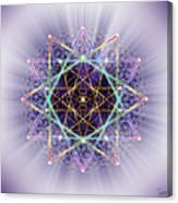 Sacred Geometry 245 Canvas Print
