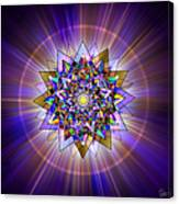 Sacred Geometry 386 Canvas Print