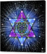 Sacred Geometry 70 Canvas Print