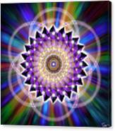 Sacred Geometry 74 Canvas Print