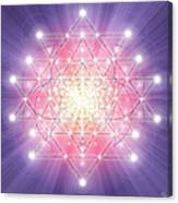 Sacred Geometry 92 Canvas Print