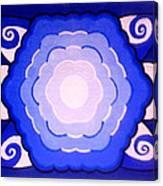 Sacred Geometry Mandala Canvas Print