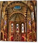 Sacred Heart Cultural Center Canvas Print