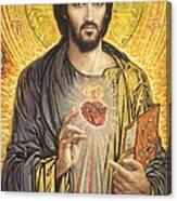 Sacred Heart of Jesus olmc Canvas Print