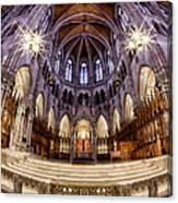 Sacred Heart Sanctuary Canvas Print