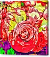 Sacred Roses Canvas Print
