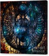 Sacred Scarab Canvas Print