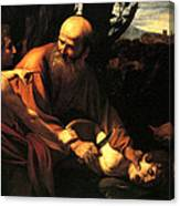 Sacrifice Of Issac Canvas Print
