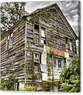 Saddle Store 1 Of 3 Canvas Print