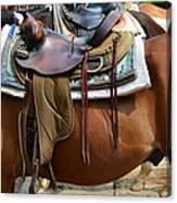 Saddle Up Partner Canvas Print