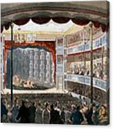 Sadlers Wells, From Ackermanns Canvas Print