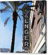 Saenger Theater New Orleans Canvas Print
