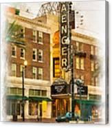 Saenger Theatre New Orleans Paint 2 Canvas Print