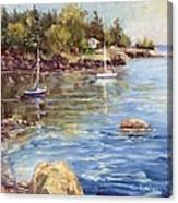 Safe Harbor - Oak Point Canvas Print
