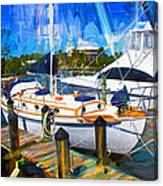 Safe Harbor Series 09 Canvas Print