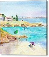 Safe To Swim Canvas Print