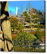 Sagamihara Asamizo Park 15c Canvas Print
