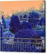 Sagamihara Asamizo Park 16g Canvas Print