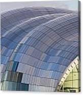 Sage Gateshead Roof Close Up Canvas Print
