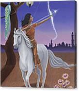 Sagittarius / Saraswati Canvas Print