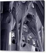 Sagrada Familia Vault Canvas Print