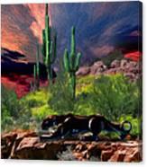 Saguaro Jaguaro Canvas Print