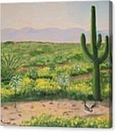 Saguaro Monument Canvas Print