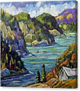 Saguenay Fjord By Prankearts Canvas Print