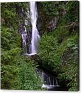 Sahale Falls In Oregon Canvas Print