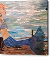 Sahbreena Punk Mermaid Canvas Print