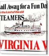 Sail Away For A Fun Day Canvas Print