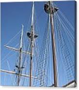 Sail Rigging Canvas Print