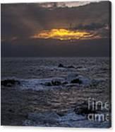 Sail Rock Sunrise 2 Canvas Print