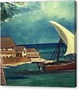 Sail Storm Canvas Print