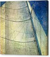 Sail Texture Canvas Print