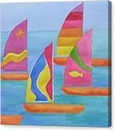 Sailabration Canvas Print